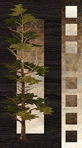Mighty Pines Fabric Panel - 24