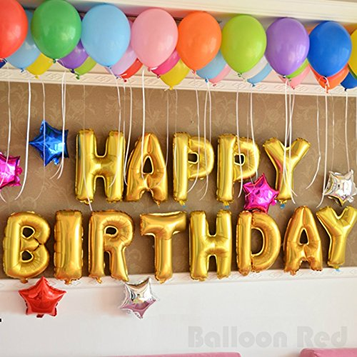 Amazon.com: 16 Inch Foil Mylar Balloons Banner for Wall Decoration ...