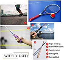 Febbya Tenis Grip, Raqueta Grip 9 Pack Anti Slip Perforado ...