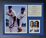 """Legends Never Die """"Don Drysdale and Sandy Koufax"""" Framed Photo Collage, 11 x 14-Inch"""