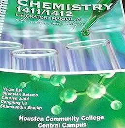 chemistry 1411 1412 laboratory manual with instrumental analysis rh amazon com