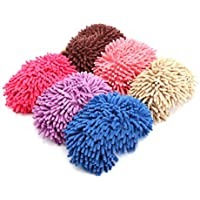 BESPORTBLE Microfiber Slippers Soft Washable Reusable Multifunctional Microfiber Foot Socks Slippers Shoes for Bathroom…