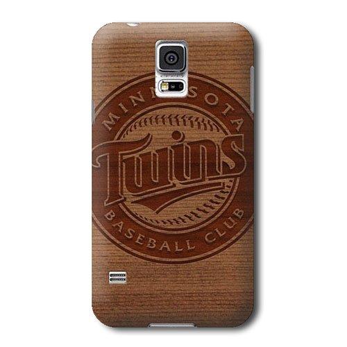 S5 Case, MLB - Minnesota Twins Engraved - Minnesota Twins - Samsung Galaxy S5 Case - High Quality PC Case