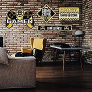 Boston Bruins Gaming 4 Piece Sign Set