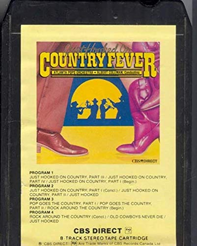 ATLANTA POPS ORCHESTRA Cond. ALBERT COLEMAN Just Hooked on Country Fever 8 Track Tape