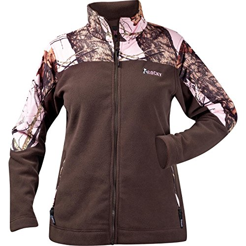 Rocky Women's Silent Hunter Real Tree Hardwoods Snow Fleece Jacket, Camouflage, X-Large