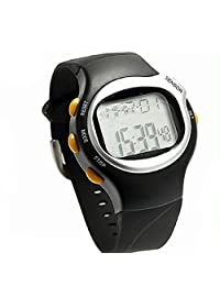 Lookatool Pulse Heart Rate Monitor Calories Counter Fitness Watch Brand New LED