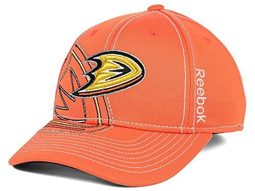 Embroidered Cap Reebok (Reebok Anaheim Ducks NHL 2014 Draft Spin Flex Cap)