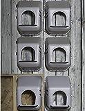 Miller 2 Pack of Large Wall Mount Egg Nesting