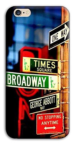 Mixroom - Cover Custodia Case In TPU Silicone Morbida Per Apple Iphone 6 6s PLUS M3525 Manhattan Brodway Time Square