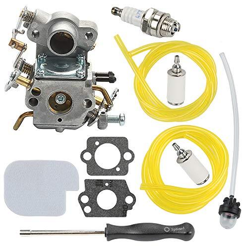 Mckin C1M-W26C P3314 Carburetor fits Poulan Pro P3416 P4018WM P4018WT P4018 PP3516AVX PP3816 PP4018 PP4218A PP4218AVX PP4218 PPB3416 PPB4218 P3314WSA Chainsaw Parts 545070601 (Poulan Chainsaw 2150)