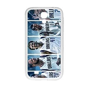 Dallas Mavericks NBA White Phone Case for Samsung Galaxy S4 Case