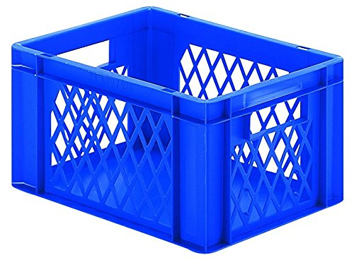 Euro Transportbox 400x300x210mm, blau LA-KA-PE TK-400/210-1