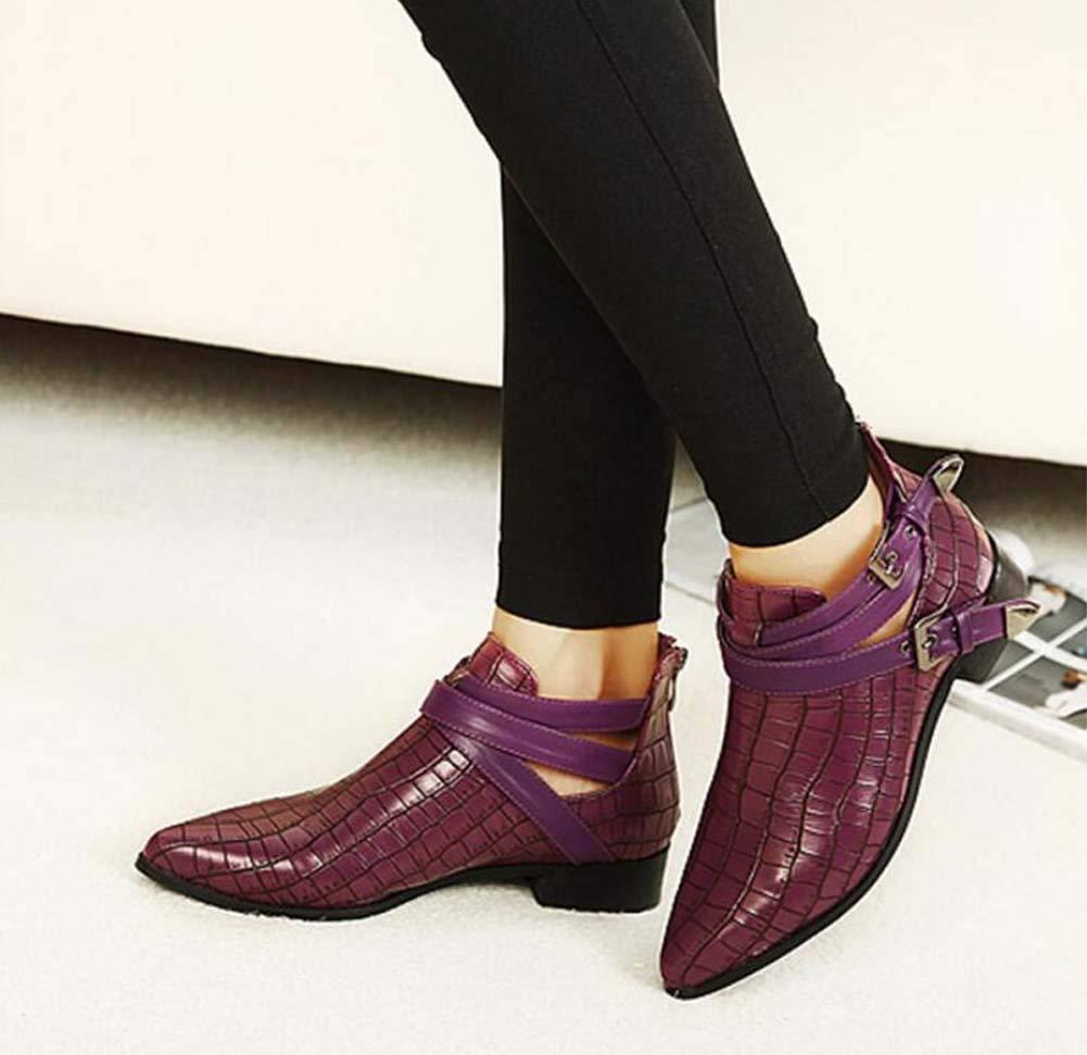 Pump Ankle Stiefelie Martin Stiefel Stiefel Stiefel Frauen einige Pointed Toe British Style Belt Party Dress Stiefel OL Court Schuhe Eu Größe 34-40 e79d34