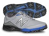 New Balance Men's nbg2004 Golf Shoe, Grey/Blue, 10 D US