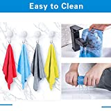 12 Pack Microfiber Cleaning Cloth Dust Rag Washable