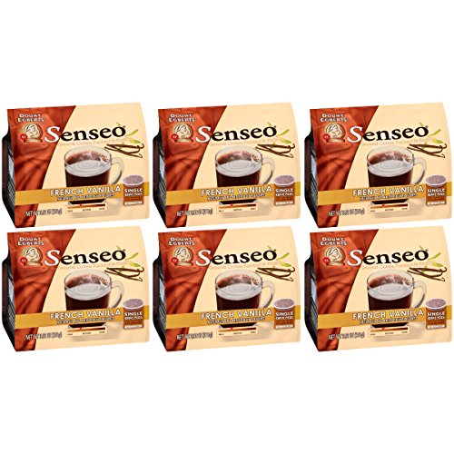 (Senseo Paris French Vanilla Coffee, 16-Count Pods, 3.9 Oz (Pack of 6))