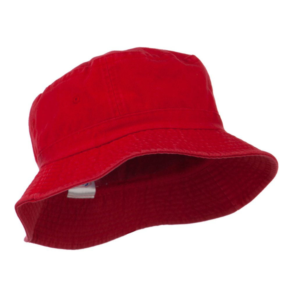 429ff563bfb60c Pigment Dyed Bucket Hat-Red: Amazon.ca: Clothing & Accessories