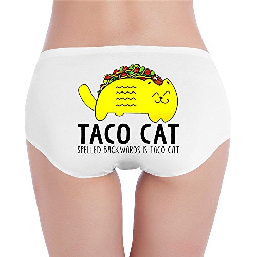 Sexy Womens,Low-Waist,Designer Funny Taco Cinco De Mayo Taco Cat Mexican Sheer Panties Underwear Thong - Mayo Cinco De Songs