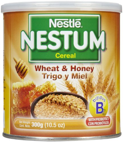 Nestum Baby Cereal – Wheat and Honey – 10.5 oz – 12 Pack