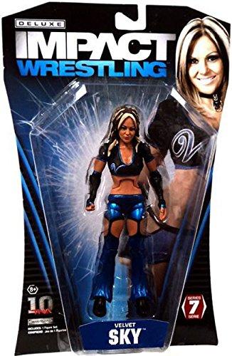 TNA Wrestling Deluxe Impact Series 7 Action Figure Velvet Sky [Toy]