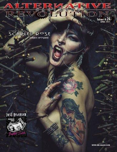 Alternative Revolution Magazine: Issue 24 Cover Model Scarlet Rose
