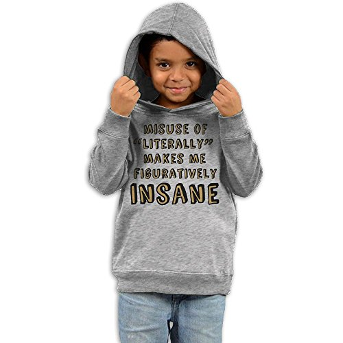 ZhiqianDF Girls Misuse Of Literally Casual Style Fleece2 Toddler - Glasses Frames Kid Cudi
