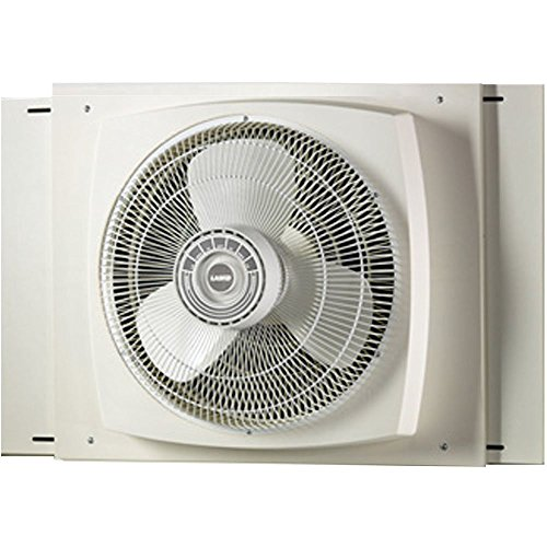 Lasko REVERSIBLE ENERGY EFFICIENT Window Fan with All NEW Exclusive Storm Guard Feature by Lasko