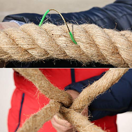 BAI-Fine Wire Rope 20m/25m/30m/40m/50m Tug of War Rope Adult/Child Tug-of-war Combat Fitness Rope Linen Rope Does Not Hurt The Hand Game Rope (Color : Diameter 4cm, Size : 30m) by BAI-Fine (Image #2)