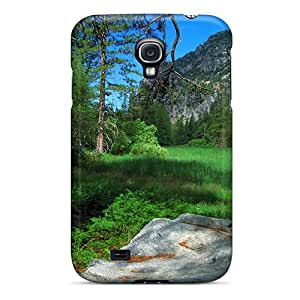 New Premium DavidStu Oak Tree At A Yosemite Meadow Skin Case Cover Excellent Fitted For Galaxy S4