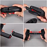 SATINIOR Game Clutch Grip Mobile Game Controller Handle Gaming Grip for PUBG, Rules of Survival, Knives Out, Support 4.5 to 6.5 Inch Smartphone