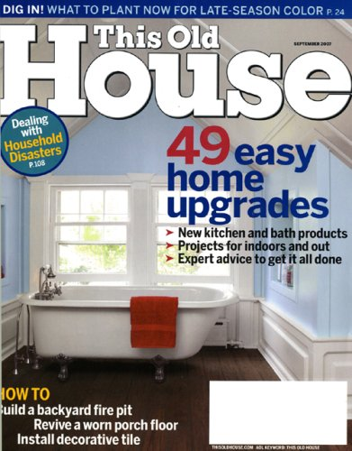 This Old House Magazine Subscriptions Good Shoppr