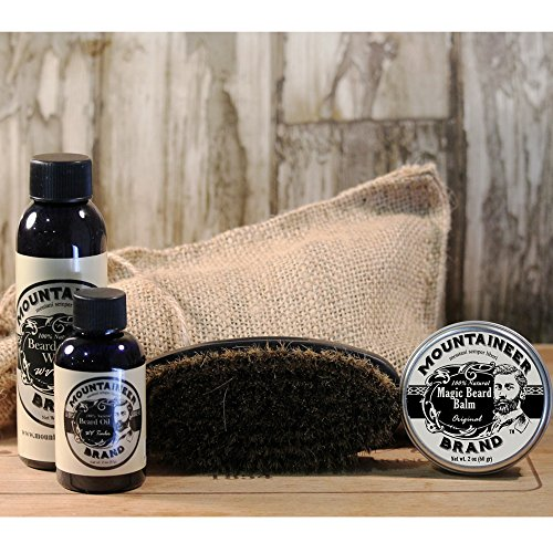 beard care kit by mountaineer brand all natural complete beard care in one kit original. Black Bedroom Furniture Sets. Home Design Ideas
