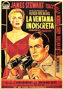 Rear Window - Movie Poster - 11 x 17