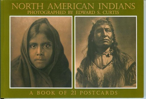 North American Indians: a Book of 21 Postcards