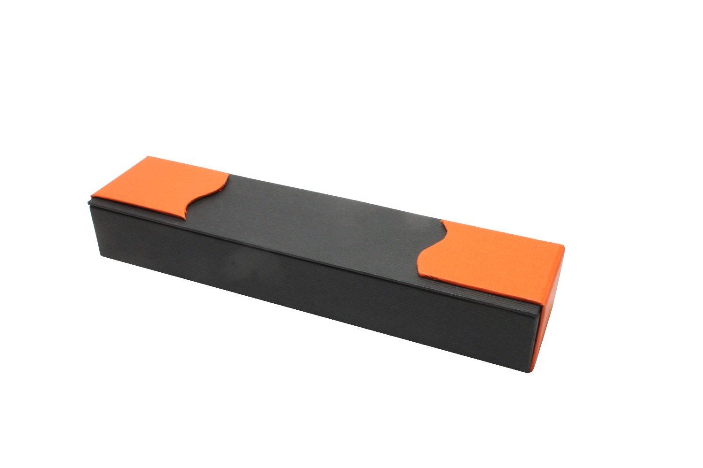 Glasschreiber Glasfeder Glasfüller schwarz im Geschenketui Glasfedern GlasXpert