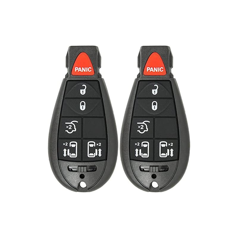 Mushan Pack of 2 Keyless Entry 6 Button