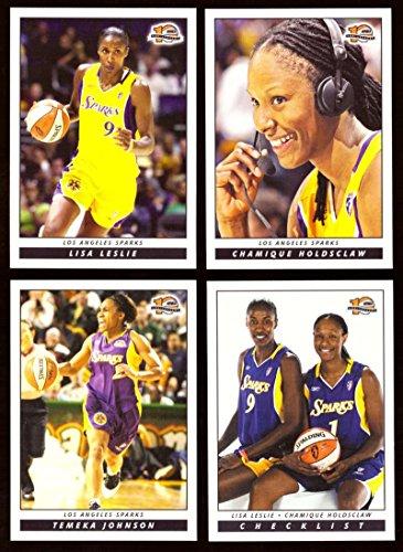 Los Angeles Sparks 2006 WNBA Basketball Team Set