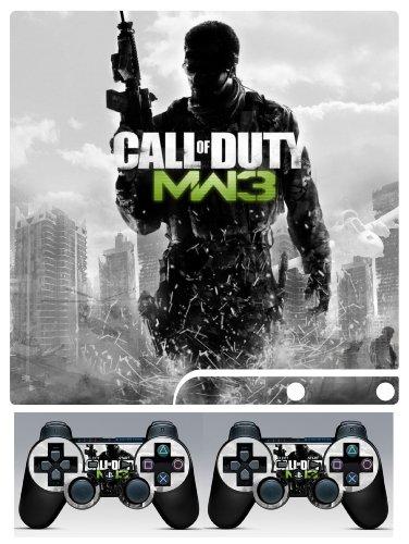 PS3 Slim Skin Call of Duty MW3