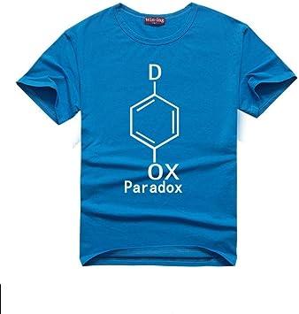 JJZHY Fórmula química Camiseta de algodón de Cuello Redondo Ciencia e ingeniería Unisex: Amazon.es: Deportes y aire libre