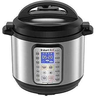 Instant Pot DUO Plus 8 Quart 9-in-1 Multi- Use Programmable Pressure Cooker