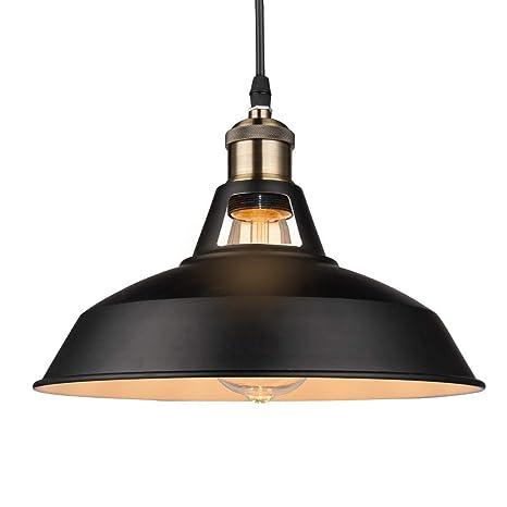 Pantalla de metal de dos colores para lámpara de techo ...