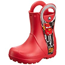 crocs 14809 Hndle Mcqueen Boot (Toddler/Little Kid),Red,7 M US Toddler