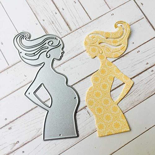- Xennos Metal Cutting Dies Stencils Pregnancy Pregnant for DIY Scrapbooking Photo Album Decorative Embossing DIY Paper Cards