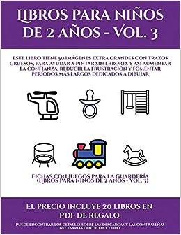 Regalos Guarderia 2 Anos.Fichas Con Juegos Para La Guarderia Libros Para Ninos De 2