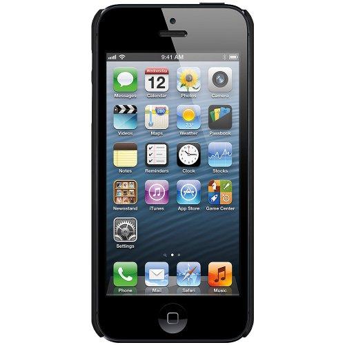 Amzer Hartschale für iPhone5 (zum Aufstecken) Schwarz