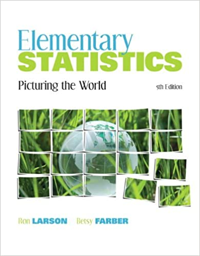 Amazon elementary statistics picturing the world 5th edition elementary statistics picturing the world 5th edition 5th edition fandeluxe Images