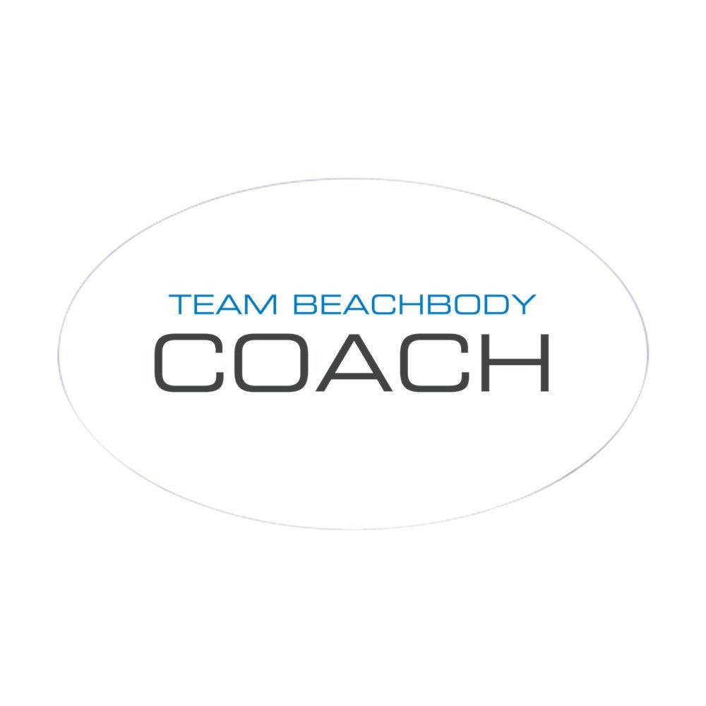Amazon.com: CafePress - Centered Team Beachbody Coach Logo Blue Top ...