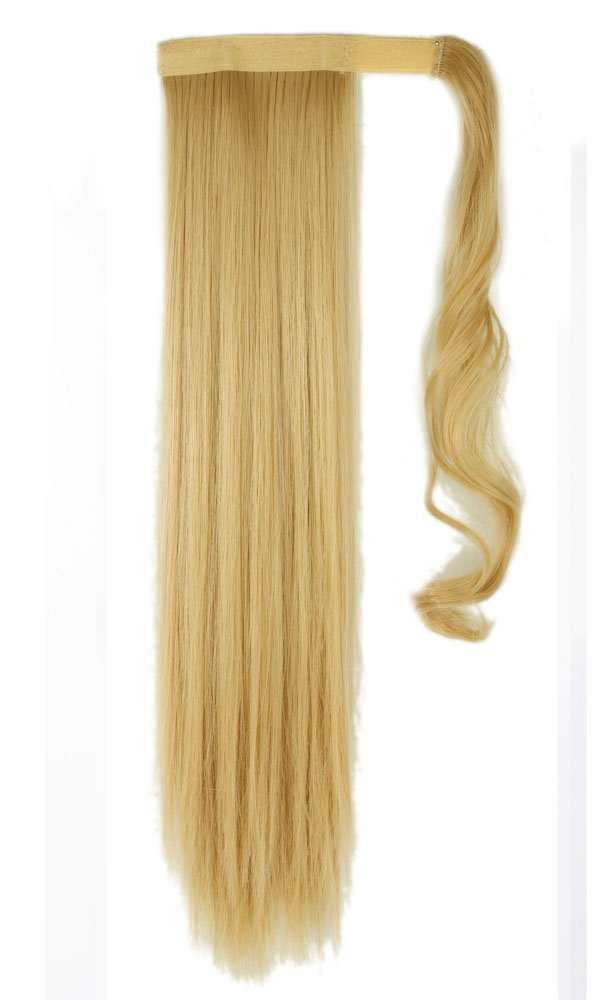 Amazon Wrap Around Synthetic Ponytail Clip In Hair Extensions