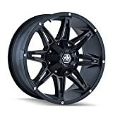 Mayhem Rampage 8090 Wheel with Matte Black Finish (17x9''/8x180mm)